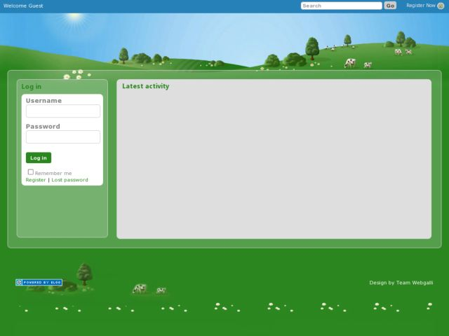 Orkut theme for elgg